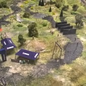Modelové železnice - dráha pro překážkový běh