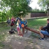 Medvíďata na výletě - dětské hřiště v Rybníkách