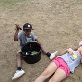 Marley chce dojíst polévku :)