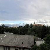 ráno v Mníšku pod Brdy