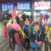 Dorazili jsme na Hlavní nádraží v Praze