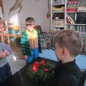 Přivítání 3. adventní neděle - Pláštěnka, Suvenýr, Čokoláda