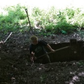Kopání latríny