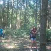 Vybíjená v lese