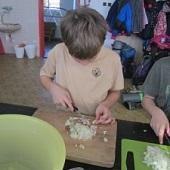 Příprava oběda - Čenda