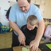 Příprava oběda - Golem a Chlebík
