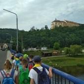 Na mostě přes Berounku