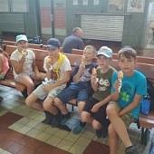 Zmrzka na nádraží v Berouně