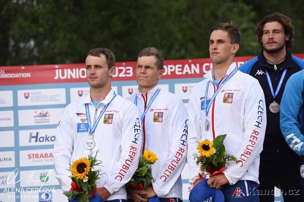S Vaškem a Honzou jsem získal dvě medaile v závodě týmů. Díky kluci.