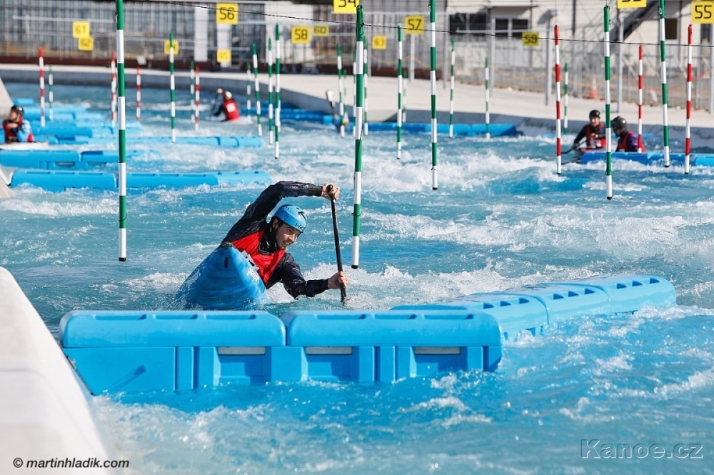 Trénink na olympijské trati, Tokio 2019