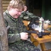 střelba - Jirka plnění zásobníku