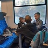 Ve vlaku - Bóďa, Čertisko, Šimon