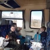 Ve vlaku domů - Čertisko, Dudlík (Bóďa), Šimon