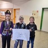 Pirátská vlajka posádky - Danielka, Čenda a Chlebík
