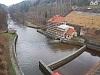 Budova malé vodní elektrárny Les Království