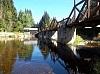 Hradlový most, který byl opatøen èeslicemi