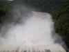 Pøehrada Slapy bìhem povodních v èervna 2013 (prùtok: 2 050 m<sup>3</sup>/s
