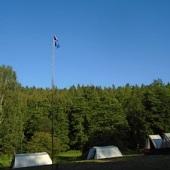 Vlajky na stožáru