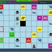 V rámci Ocean Game jsme se v týmech ponořili do hlubin oceán a hledali poklady...