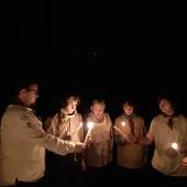 Připalování svíček