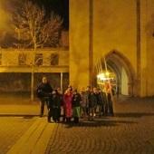 Večerní procházka - u Pražské brány
